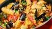 Рецепти - Паеля с морски дарове
